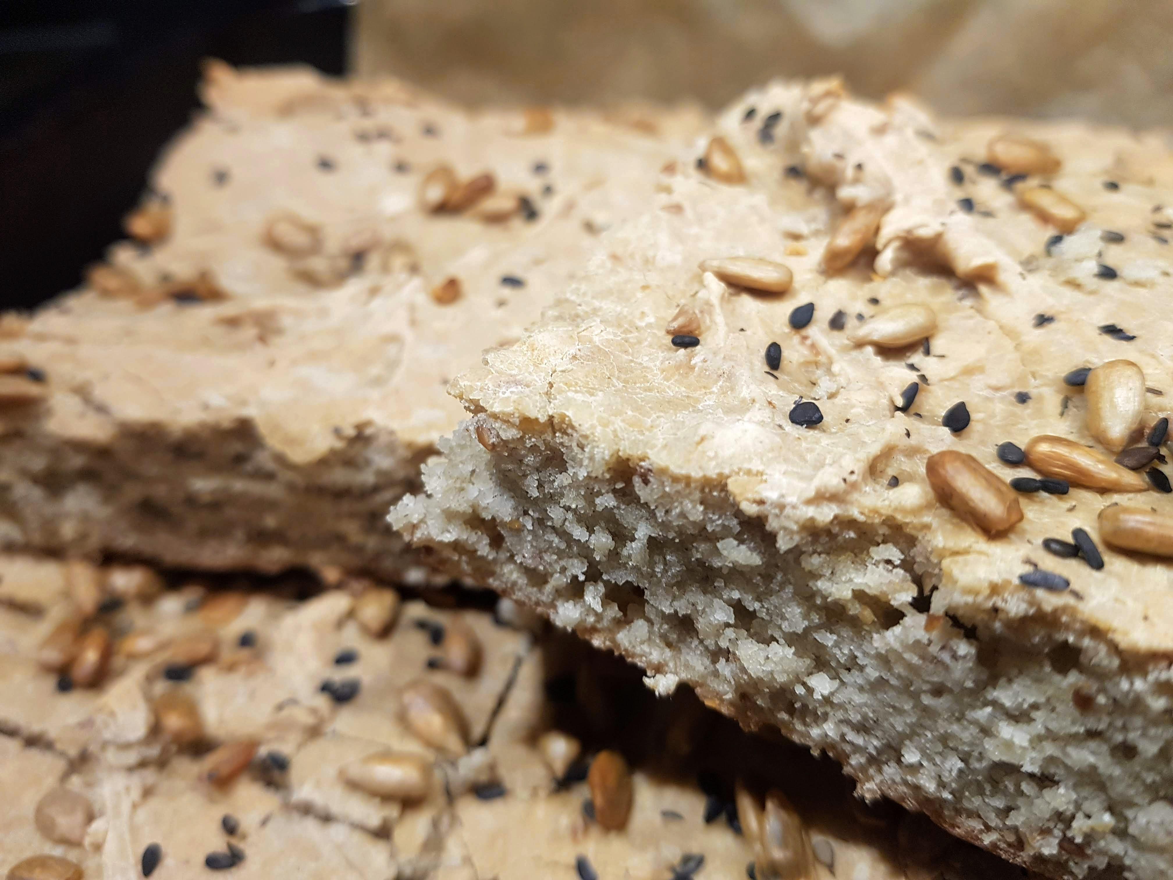 Kalljäst teff – och bovetebröd