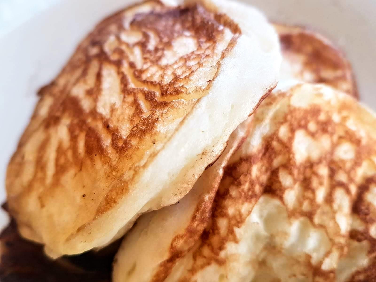 Glutenfria amerikanska pannkakor